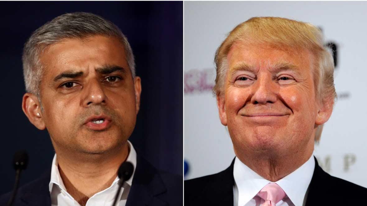 Trump vuelve a arremeter contra el alcalde de Londres | El Imparcial de Oaxaca