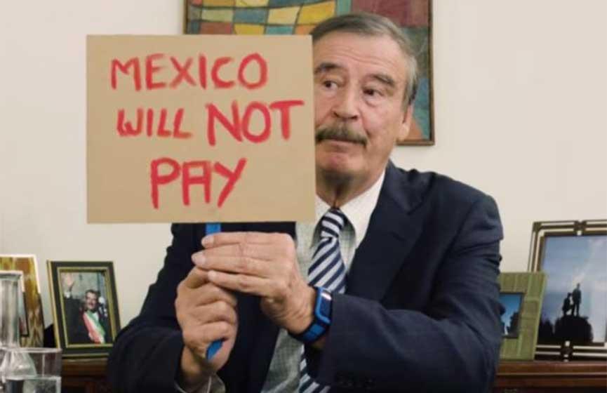 Video: 'Donald Trump, no pagaremos ese estúpido monumento': Fox | El Imparcial de Oaxaca
