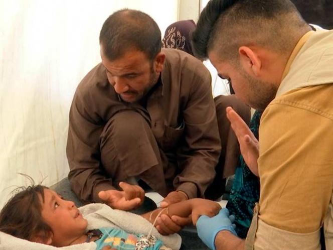 Al menos un muerto y 825 intoxicados por comida en mal estado en campo de refugiados en Irak   El Imparcial de Oaxaca