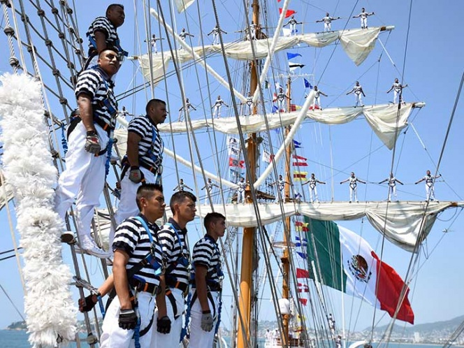 Suspenden búsqueda de la cadete que cayó del buque Cuauhtémoc | El Imparcial de Oaxaca