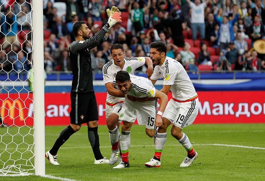 México rescata empate agónico ante Portugal con gol de Héctor Moreno   El Imparcial de Oaxaca