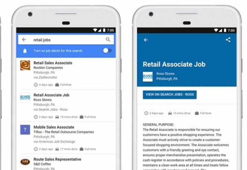Ahora podrán buscar trabajo a través de Google | El Imparcial de Oaxaca