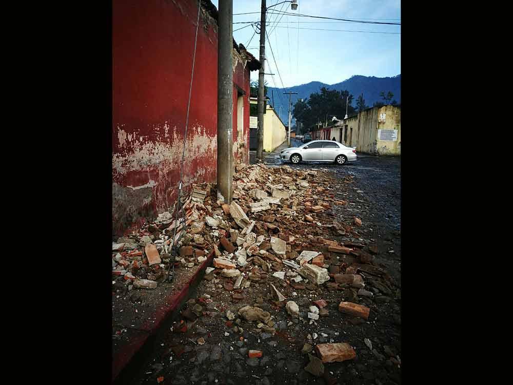 Temblor de 6.7 grados Richter sacude costas de Guatemala | El Imparcial de Oaxaca