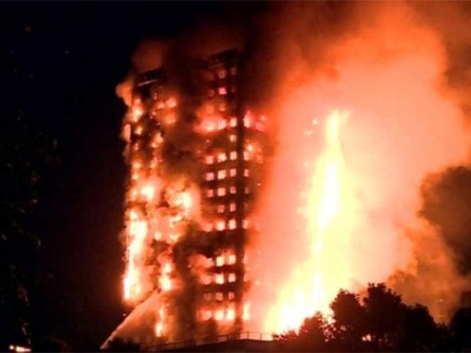 Refrigerador provoca incendio de edificio en Londres | El Imparcial de Oaxaca
