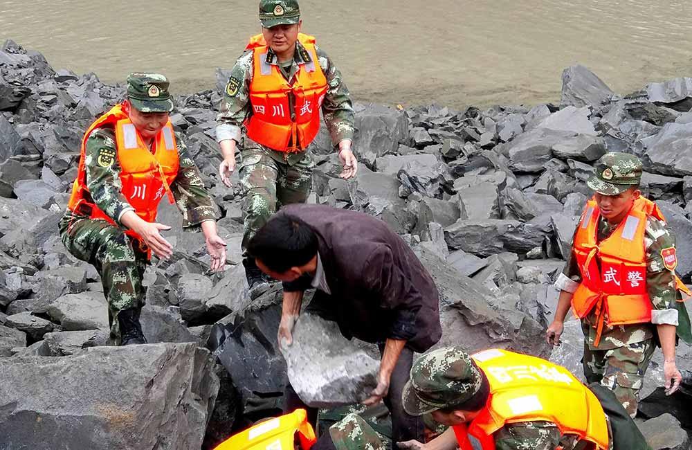 Alud sepulta pueblo en China; al menos 141 atrapados   El Imparcial de Oaxaca