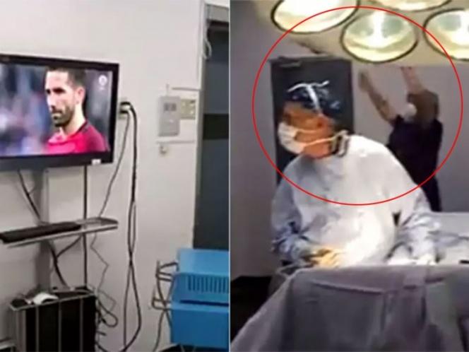 ¡Médicos detienen cirugía para festejar el triunfo de Chile! | El Imparcial de Oaxaca