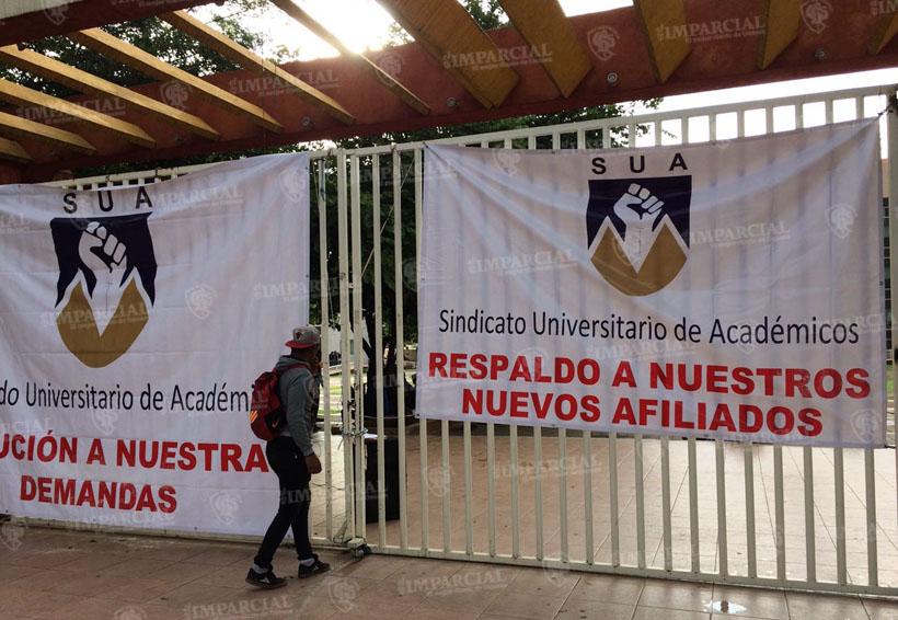 Instalaciones de la UABJO tomadas por el Sindicato Universitario de Académicos | El Imparcial de Oaxaca