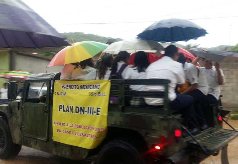 Evacuan escuelas en Salina Cruz | El Imparcial de Oaxaca