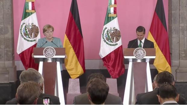 Merkel habla sobre desapariciones y migrantes en conferencia con EPN | El Imparcial de Oaxaca