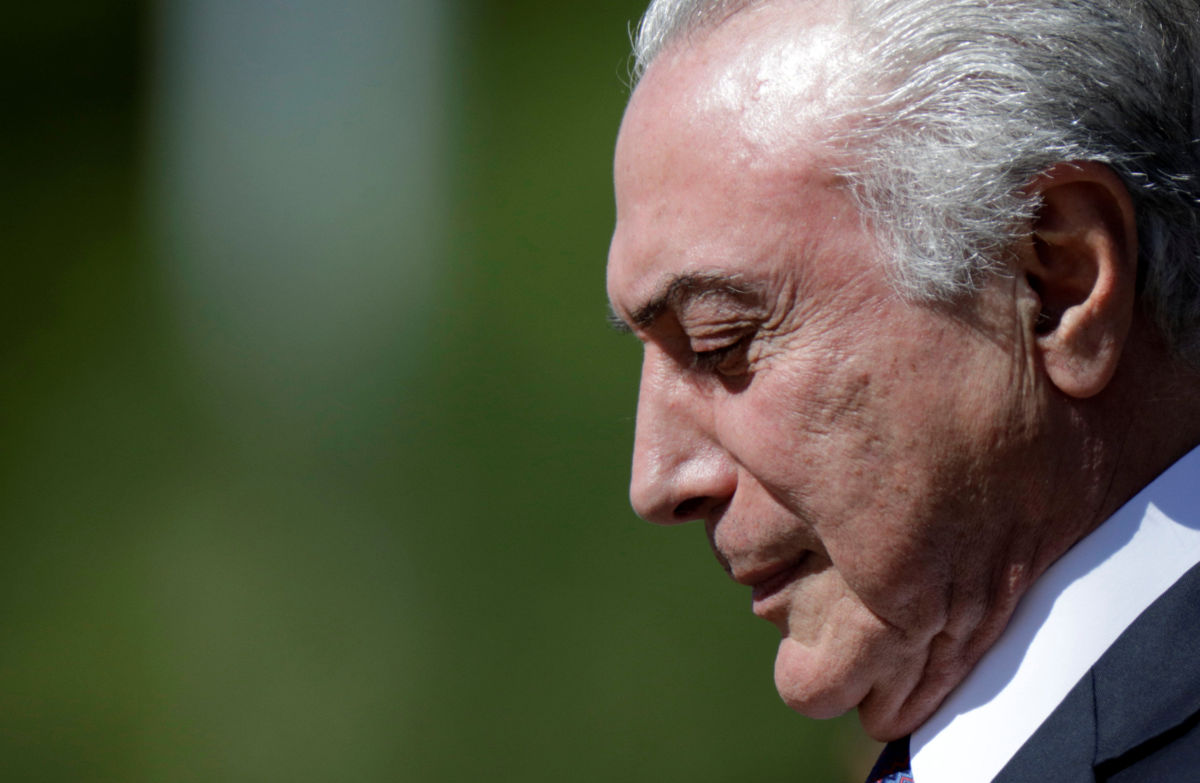Presidente de Brasil se rehúsa a responder interrogatorio sobre corrupción | El Imparcial de Oaxaca