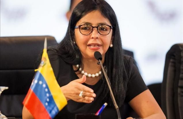 Delcy Rodríguez defenderá soberanía de Venezuela durante asamblea de la OEA | El Imparcial de Oaxaca