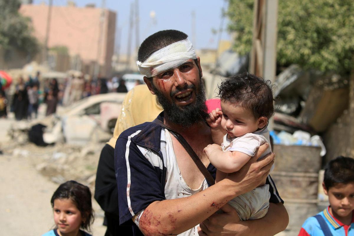 Al menos 100 mil niños atrapados en fuego cruzado en Mosul: Unicef | El Imparcial de Oaxaca