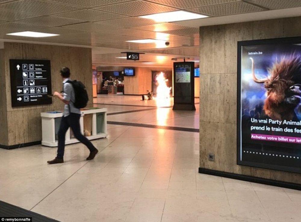 Explosión en estación central de Bruselas causa pánico | El Imparcial de Oaxaca