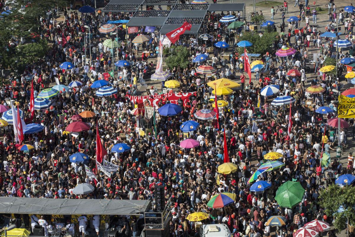 Miles de personas hacen manifestación en Sao Paulo contra Temer | El Imparcial de Oaxaca