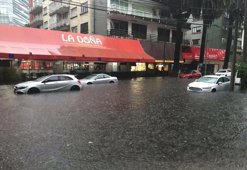 Caos vial por lluvias fuertes e inundaciones en CDMX | El Imparcial de Oaxaca