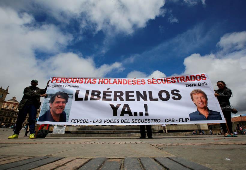 Liberan guerrilleros del ELN a periodistas holandeses | El Imparcial de Oaxaca