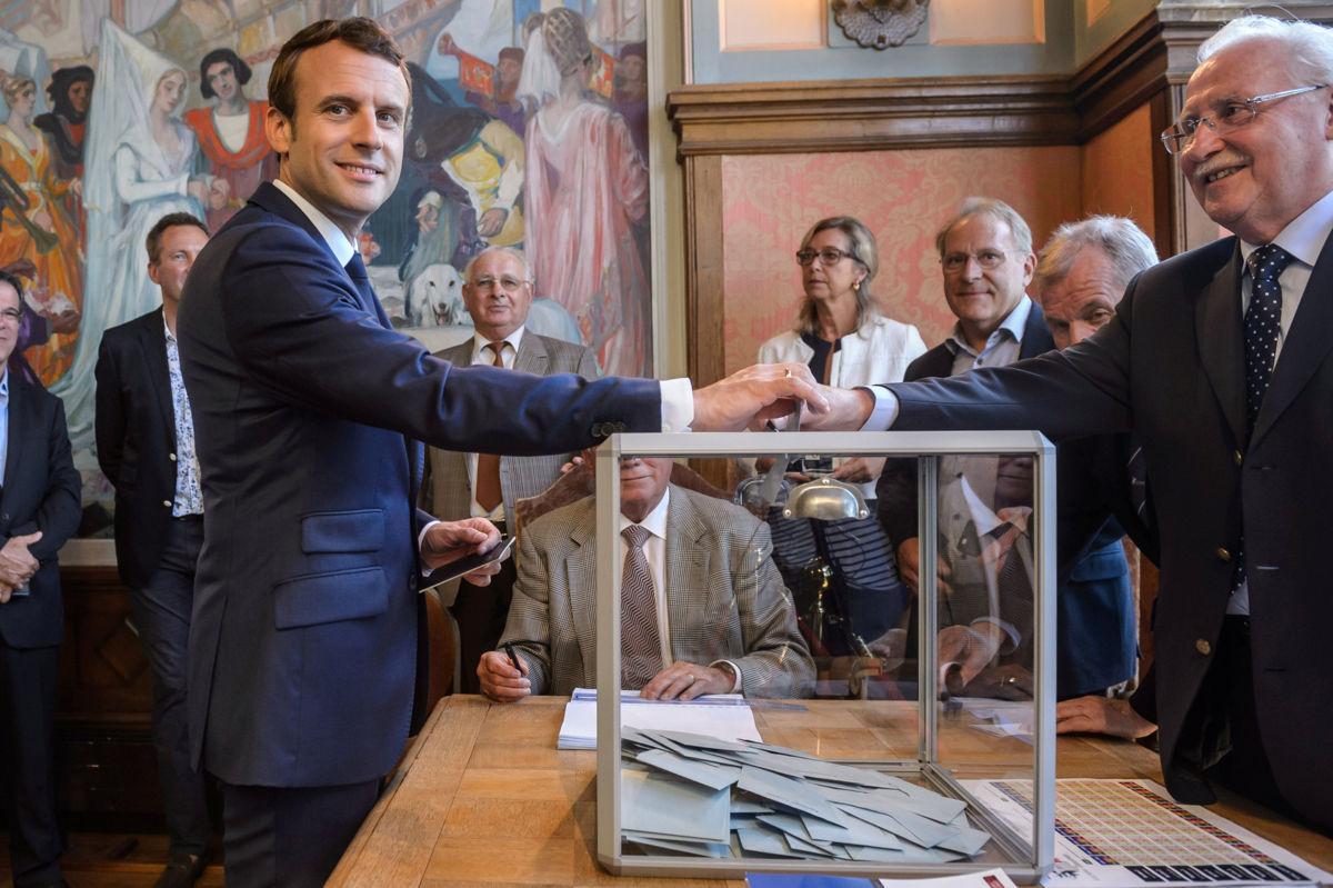 El partido de Macron gana primera vuelta de legislativas | El Imparcial de Oaxaca