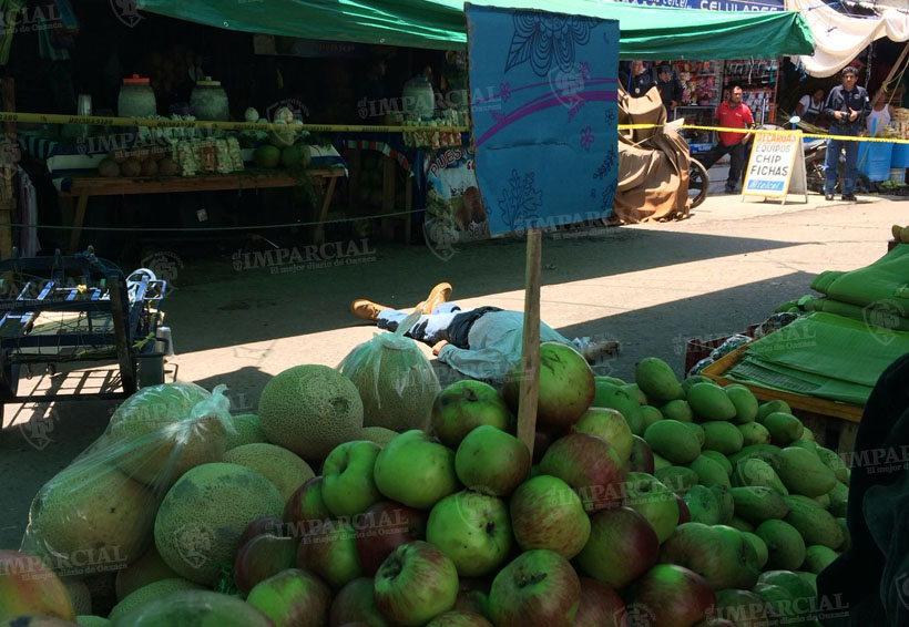 Acribillan a persona en la Central de Abastos de Oaxaca | El Imparcial de Oaxaca