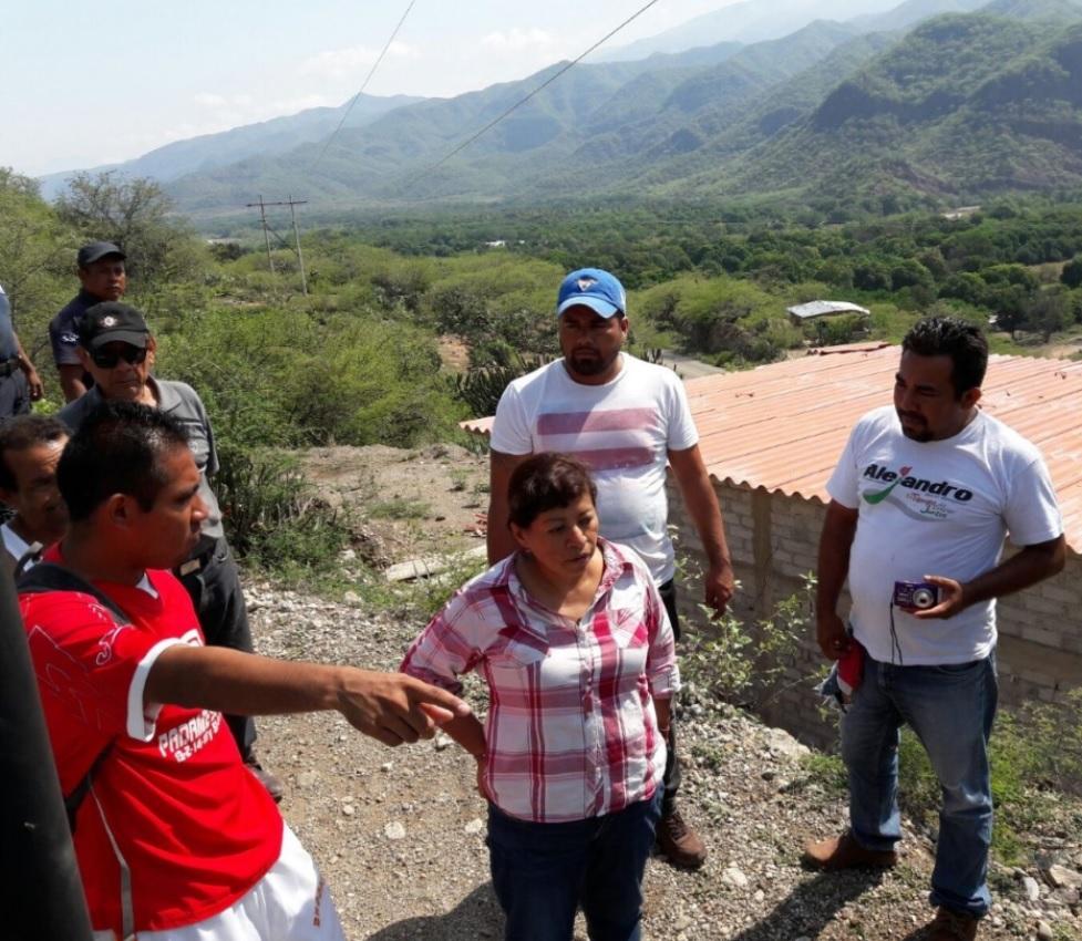 Recorre agencia de San José del Chilar afectada por tromba | El Imparcial de Oaxaca