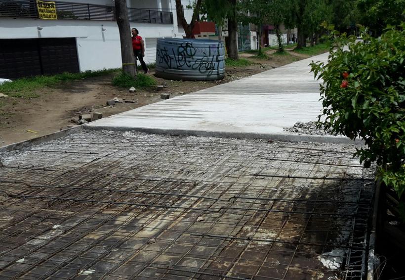 Avanzan obras del Andador del Sol | El Imparcial de Oaxaca