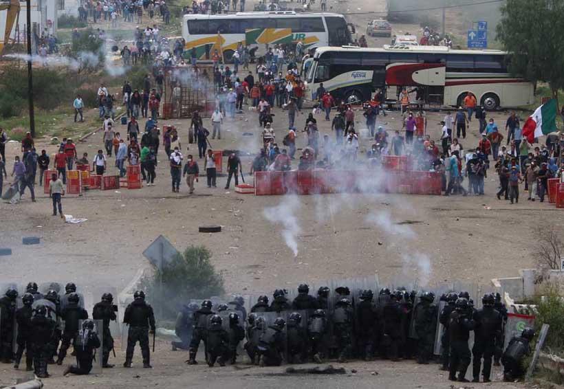 Marchas y toma de caseta prepara S-22 | El Imparcial de Oaxaca
