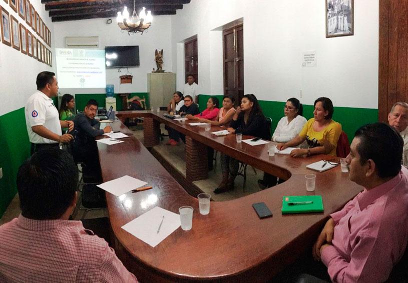 Capacitan en gestión de riesgos  a las agencias de la capital | El Imparcial de Oaxaca