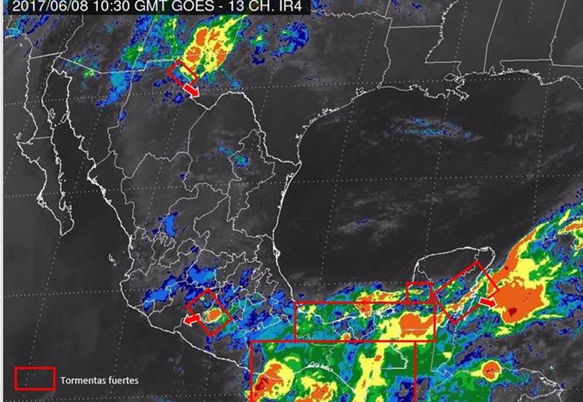 Para hoy se prevén tormentas fuertes en Oaxaca | El Imparcial de Oaxaca