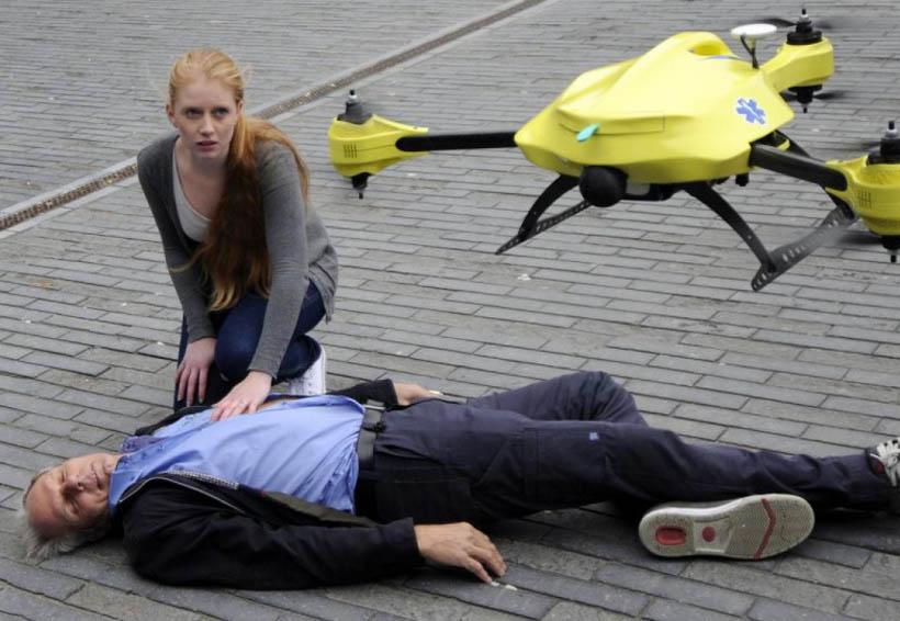 Drones con desfibriladores cardiacos pueden salvar vidas | El Imparcial de Oaxaca