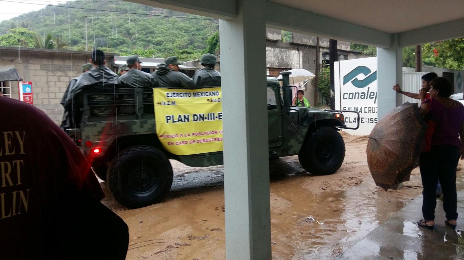 Provoca DT 2-E tormentas torrenciales en Oaxaca | El Imparcial de Oaxaca