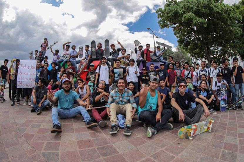 Celebraron en Oaxaca el Día Mundial del Skate | El Imparcial de Oaxaca