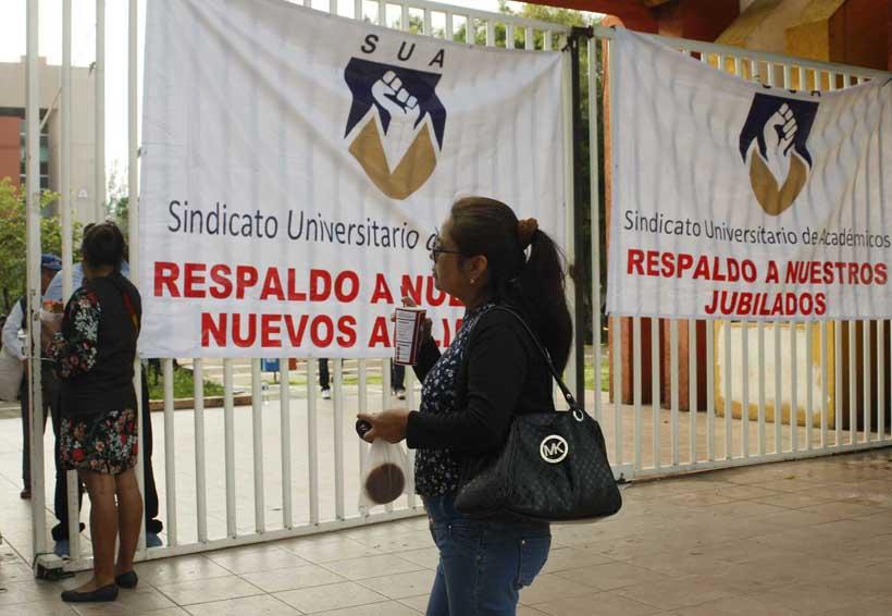 CU paralizada por integrantes del SUA | El Imparcial de Oaxaca