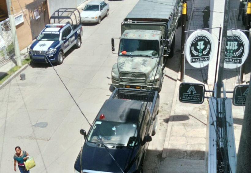 En líos AEI de Oaxaca por portar  2 armas  largas | El Imparcial de Oaxaca