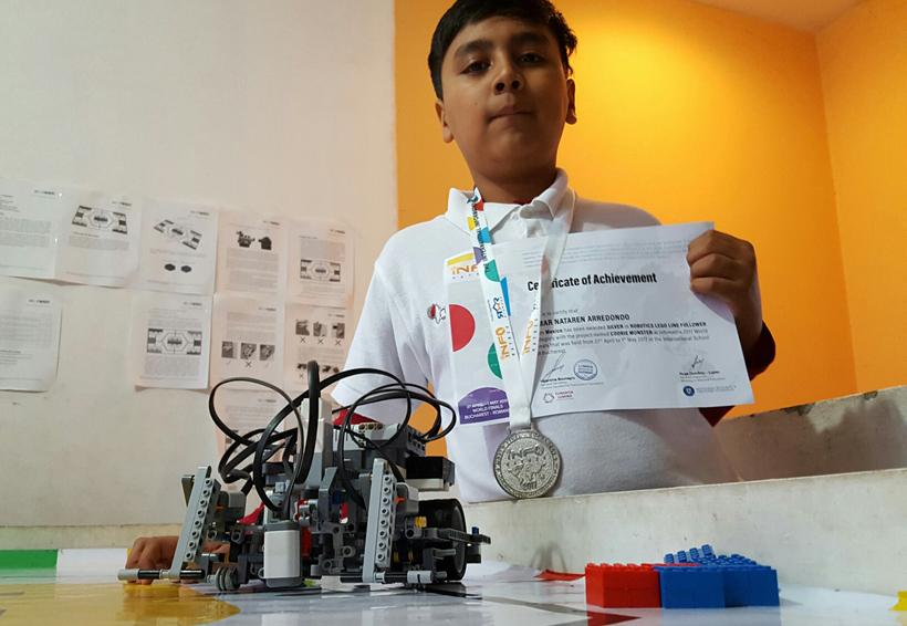 Destacan niños oaxaqueños en robótica   El Imparcial de Oaxaca