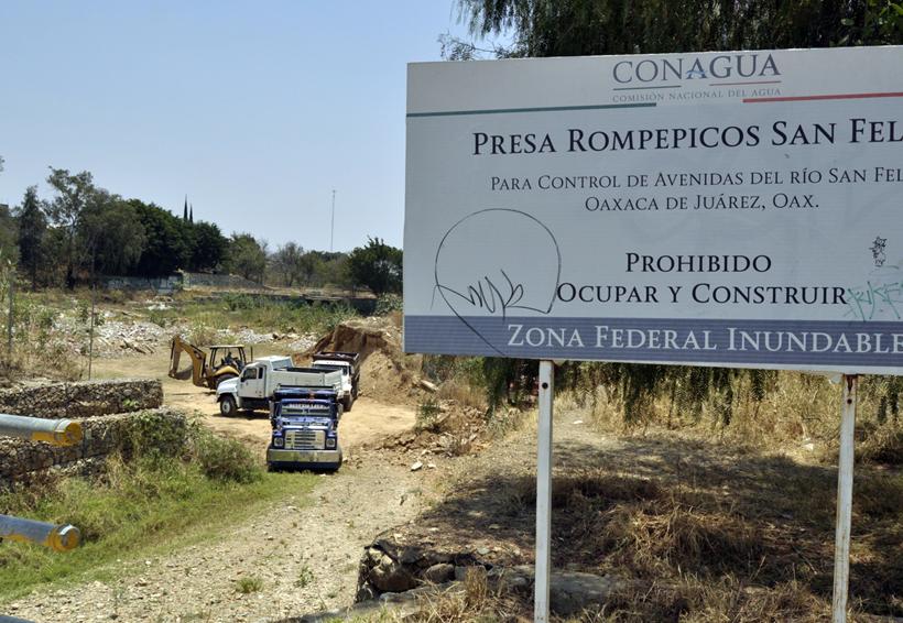 Ordena juez desazolvar la presa Rompepicos | El Imparcial de Oaxaca
