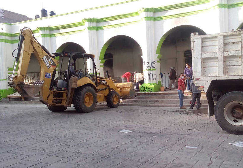 Limpian palacio de Nochixtlán; protesta Covic | El Imparcial de Oaxaca