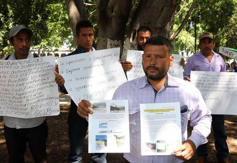 Defrauda constructora fantasma en Chimalapas | El Imparcial de Oaxaca