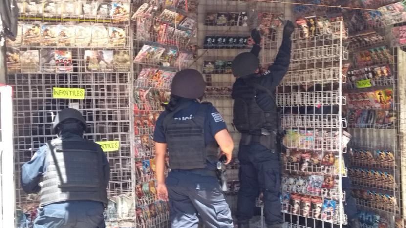 Arrasan piratería  en la de Abasto   El Imparcial de Oaxaca