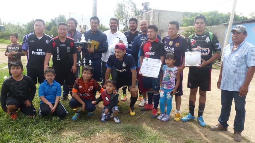 San Jacinto, campeón  del torneo Día del Padre | El Imparcial de Oaxaca