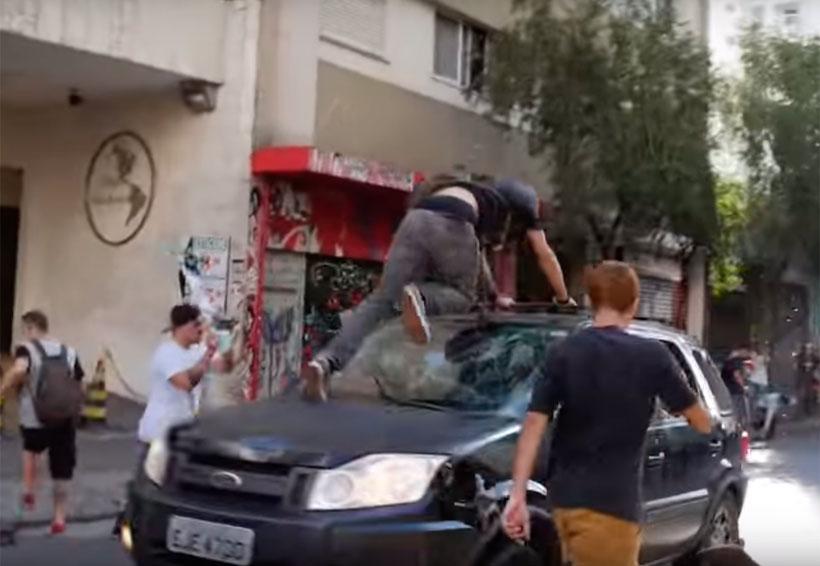 Video: Durante el Skate Day, automovilista embiste a patinadores | El Imparcial de Oaxaca