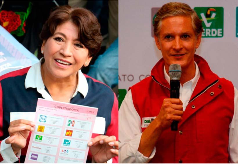Del Mazo aventaja por dos puntos a Delfina; Morena irá a Tribunales | El Imparcial de Oaxaca