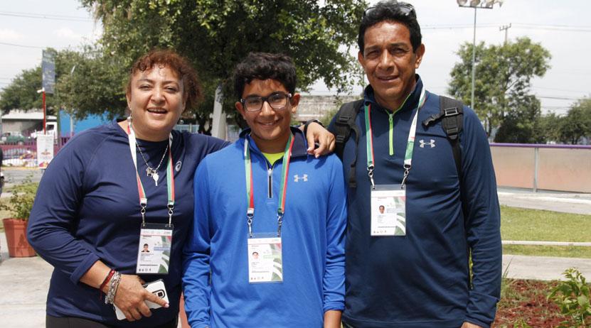 Alberto Jaime: promesa oaxaqueña en squash | El Imparcial de Oaxaca
