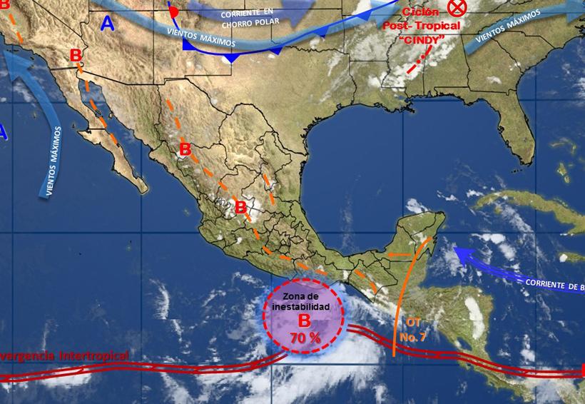 Se forma otro ciclón en el Océano Pacífico | El Imparcial de Oaxaca