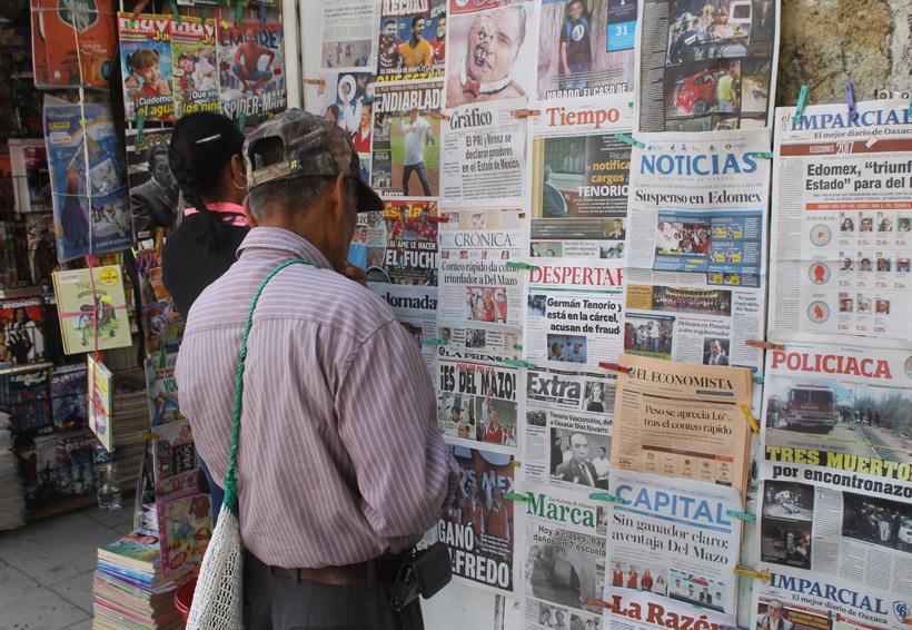 Necesario contar con la seguridad social: voceadores   El Imparcial de Oaxaca