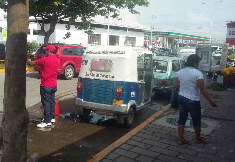 Mototaxistas del Istmo pretenden instalar base en ADO | El Imparcial de Oaxaca
