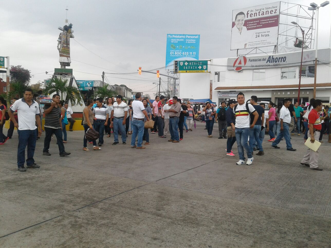 No al aumento del transporte publico, exigen en Tuxtepec   El Imparcial de Oaxaca