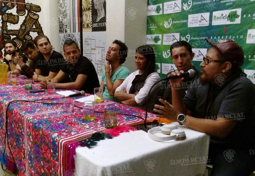 Música, arte y reciclaje por la educación | El Imparcial de Oaxaca