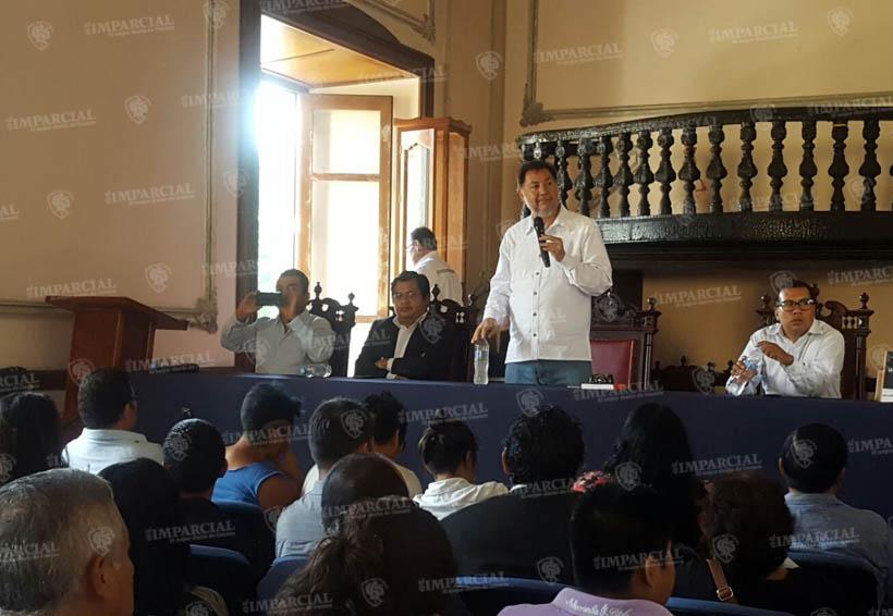 Ofrece conferencia magistral Gerardo Fernández Noroña  en la UABJO | El Imparcial de Oaxaca