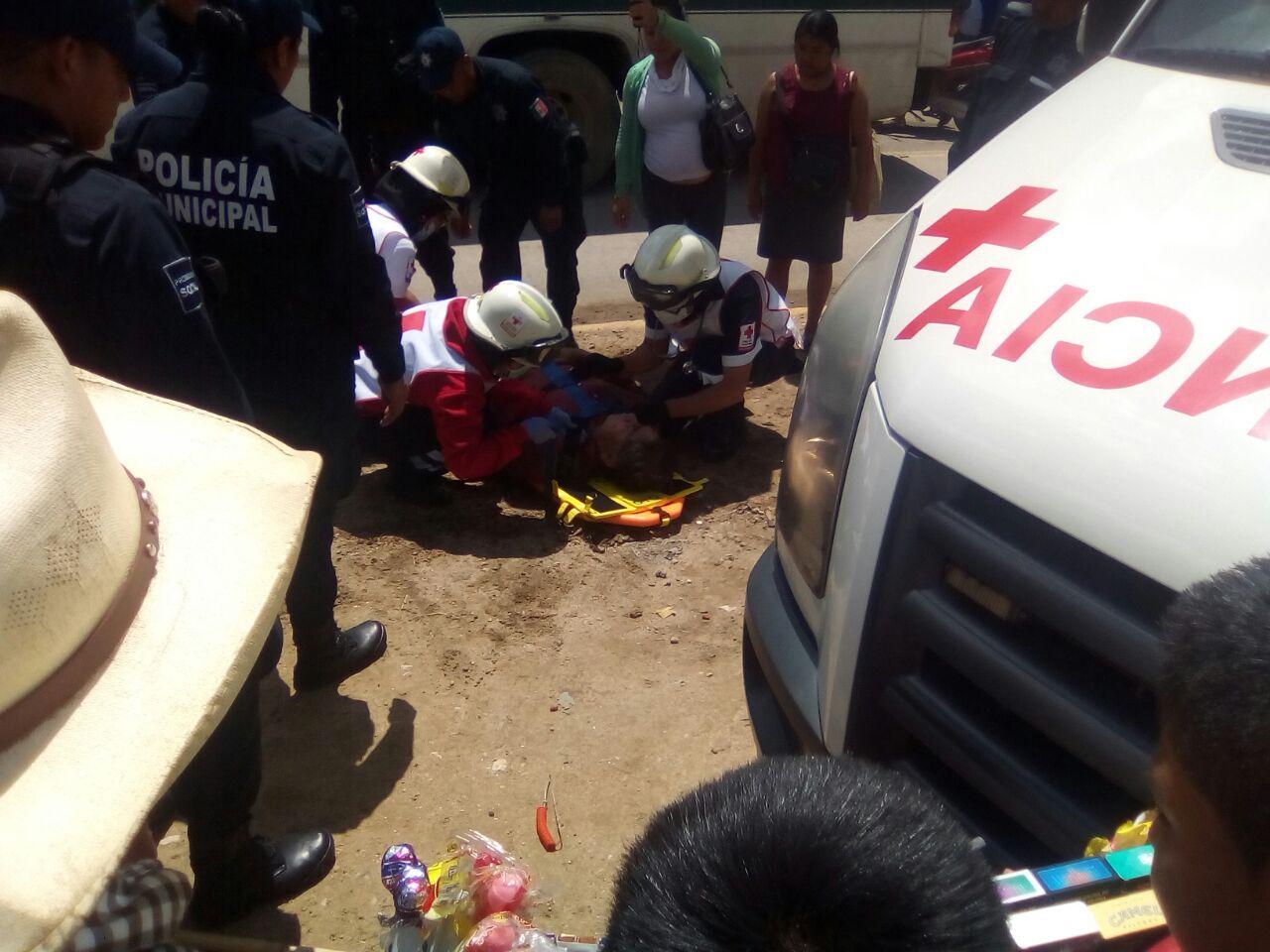 Atropellan a persona de la tercera edad enfrente de la Central de Abastos   El Imparcial de Oaxaca