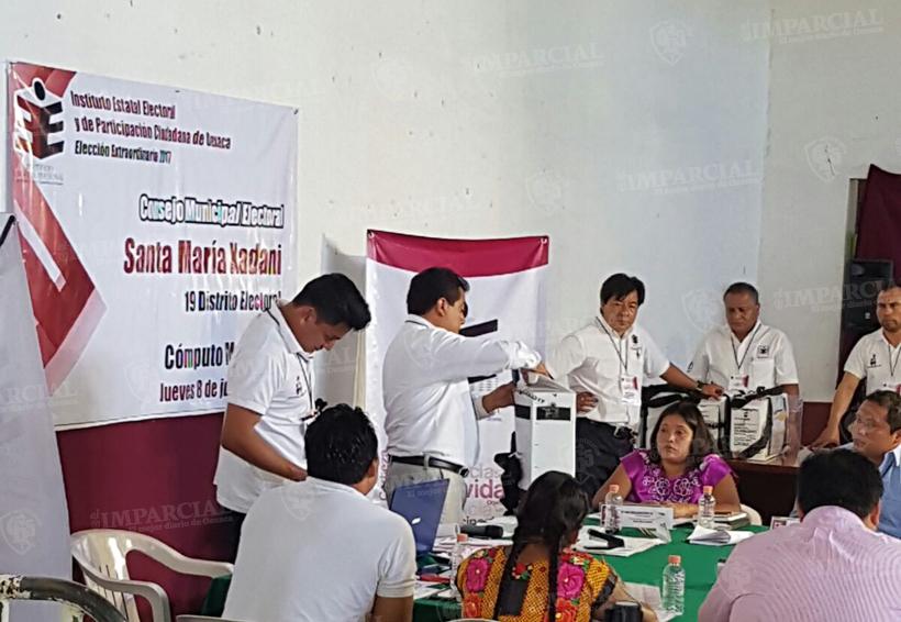 Se realiza en el IEEPCO conteo voto por voto de la elección en Xadani   El Imparcial de Oaxaca