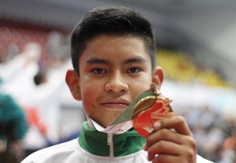 Un oro para Oaxaca ganado a puro esfuerzo en la disciplina de tae kwon do | El Imparcial de Oaxaca